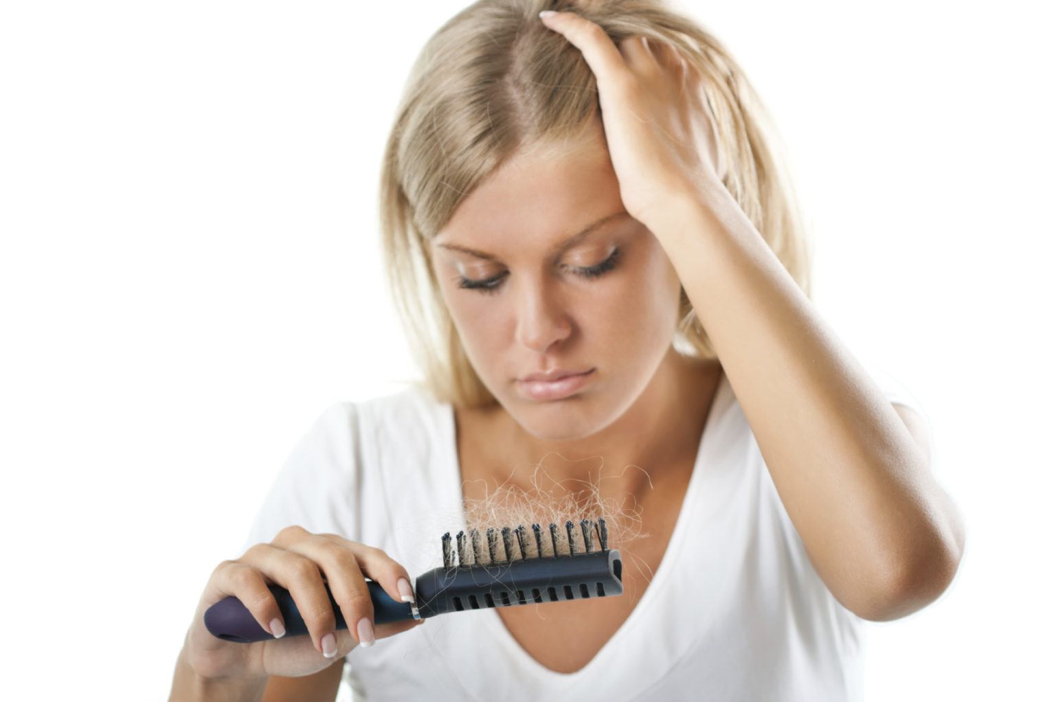 What are the causes of hair loss after pregnancy?