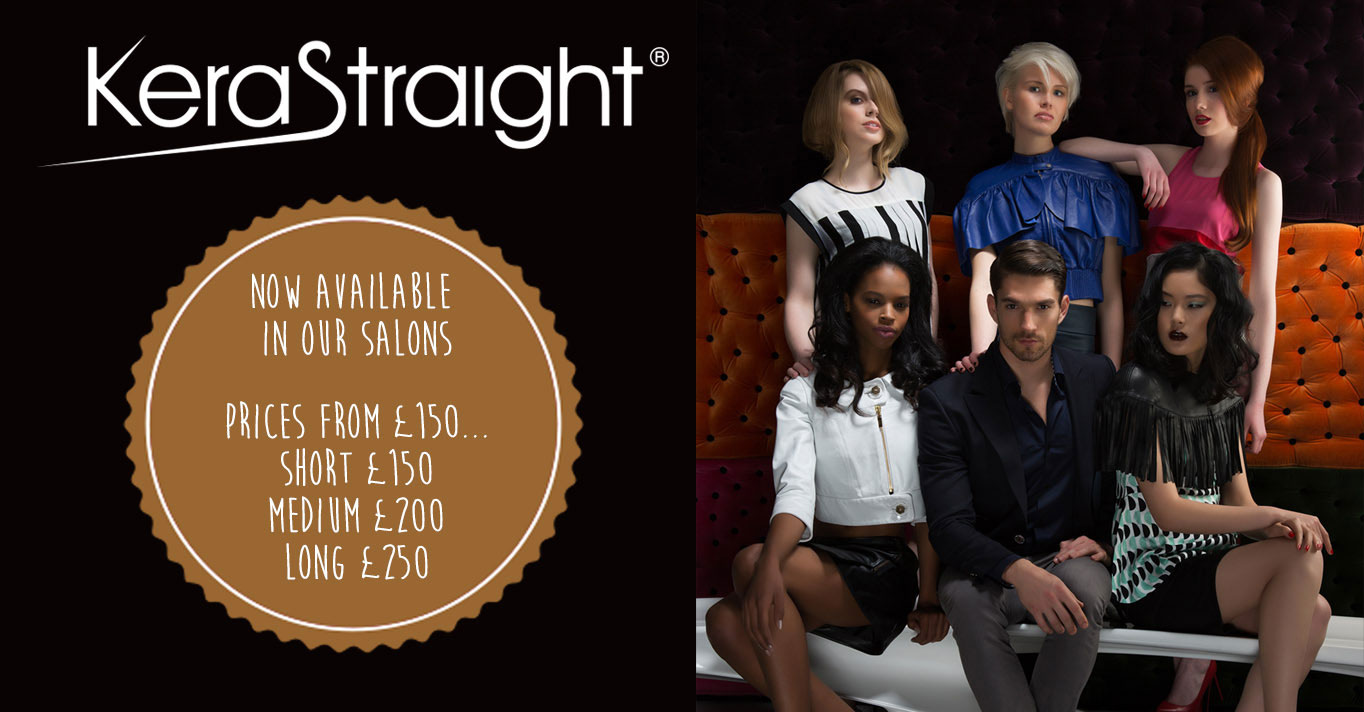KeraStraight Treatments now in our Bournemouth Salon!