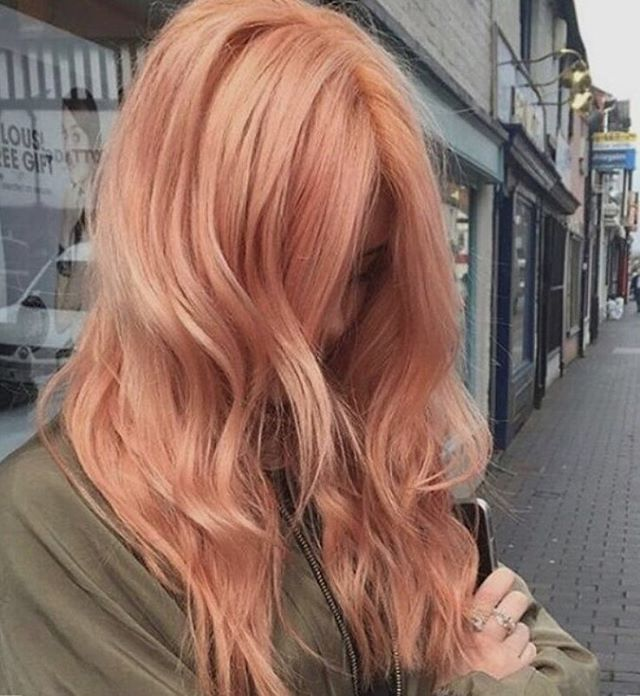 blorange hair colour