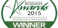 Blackmore Vale Award recognising business excellence at simone thomas hair salon westbourne bournemouth