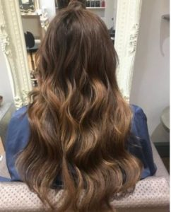 BRUNETTE HAIR COLOUR SIMONE THOMAS HAIR SALON WESTBOURNE BOURNEMOUTH