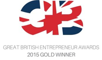 GB British Entrepreneur Awards – Winner of Small Business of the Year 2015