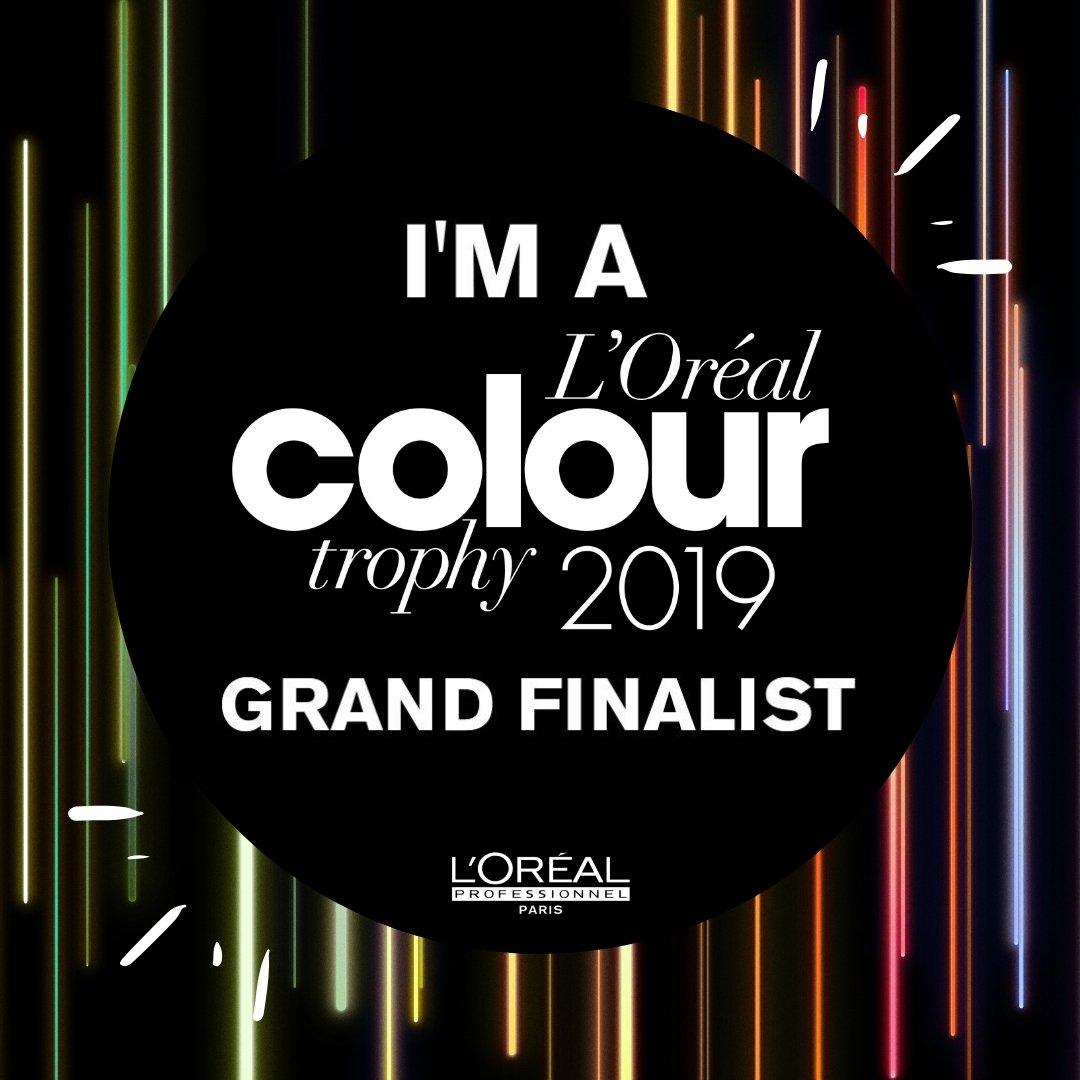 L'Oréal Colour Trophy Finalist 2019