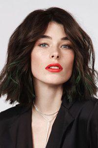 mid length hairstyles, simone thomas hairdressing salon, westbourne, bournemouth