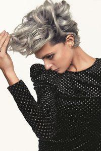 silver hair colour, simone thomas hair salon, westbourne, bournemouth