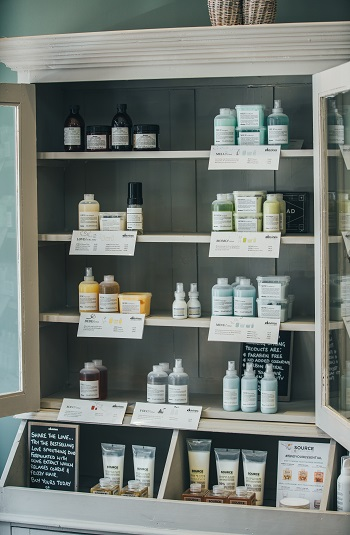 hair care products at Simone Thomas Poole & Bournemouth