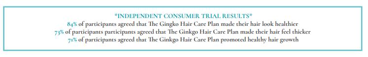 Gingko plan trials