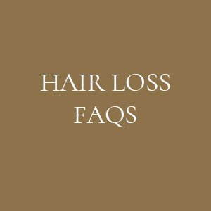 HAIR LOSS FAQS