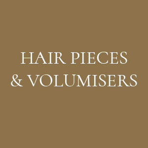 HAIR PIECES & VOLUMISERS