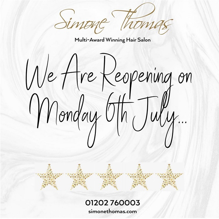 Re Opening Simone Thomas Hair Salon Westbourne