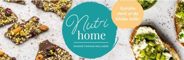 Nutrihome Simone Thomas Wellness recipes