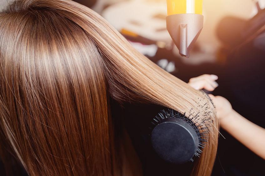 Hair Cut and Finish Simone Thomas Top Hair Salon Dorset