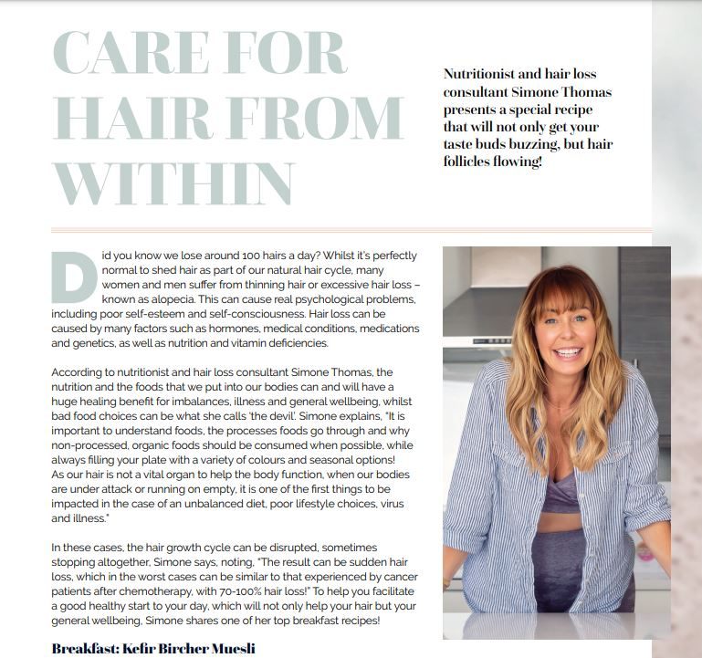 Beyond Beauty Care For Hair From Within
