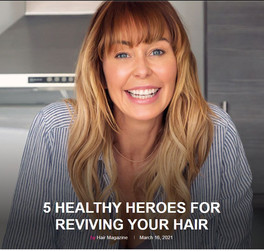 Hair Magazine Healthy Hair Heroes