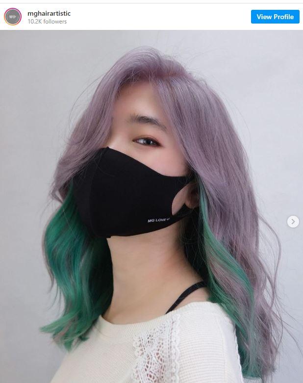 Tyla Colour Pop Hair Trend