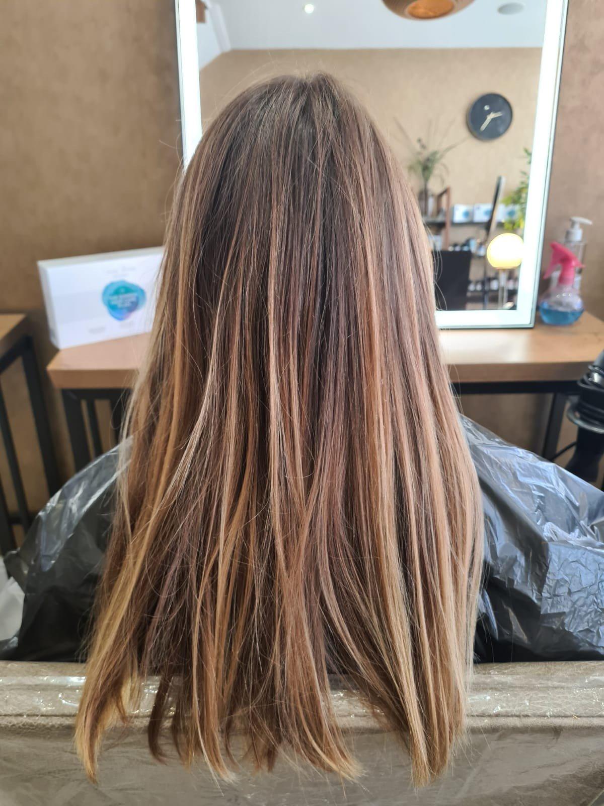 Olaplex hair colour transformation Bournemouth 1