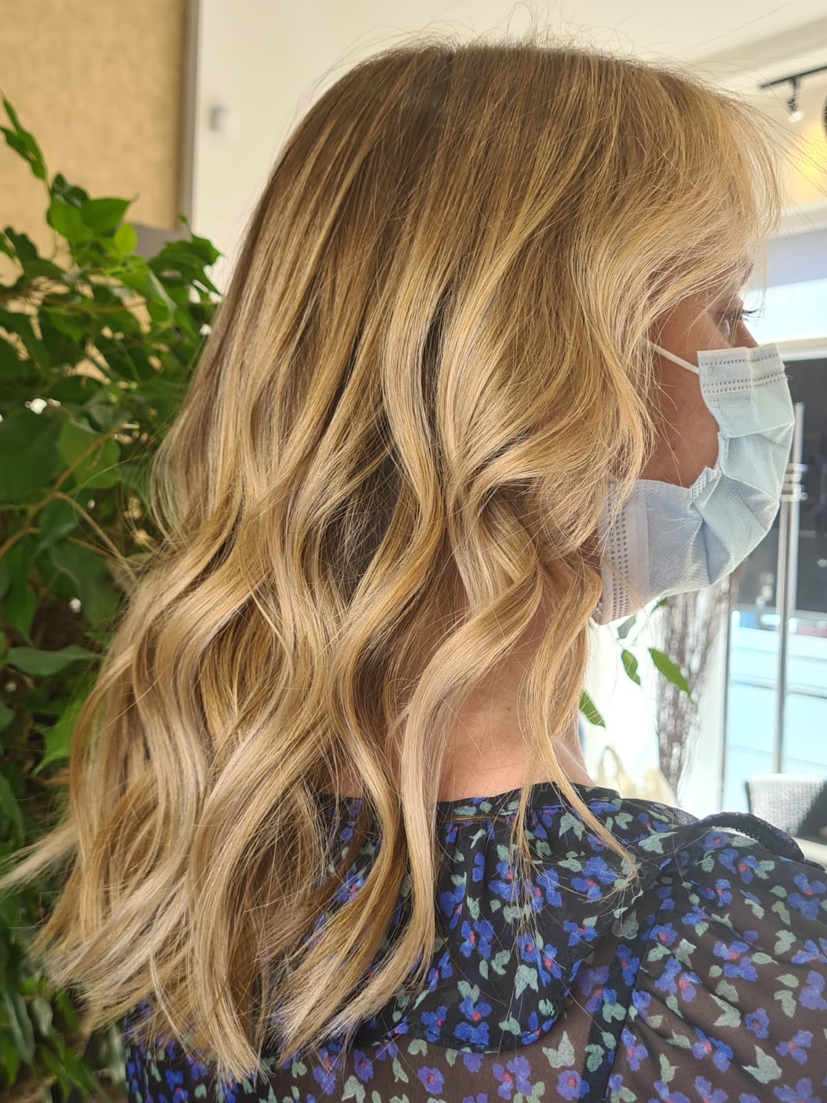 Olaplex hair colour transformation Bournemouth 3