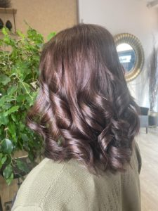 Beautiful Glossy Brunette Hair Colour Bournemouth