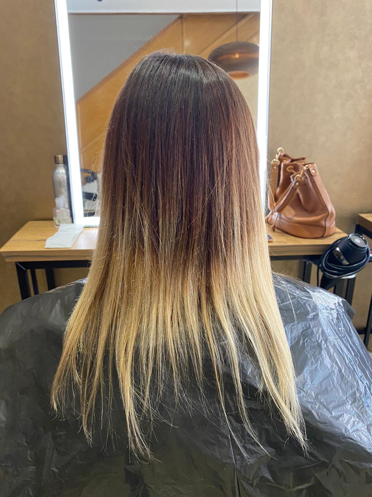 Hair Colour Transformaiton Bournemouth 1