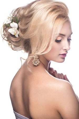 Bridal Hair Services at Simone Thomas Hair Salon in Westbourne